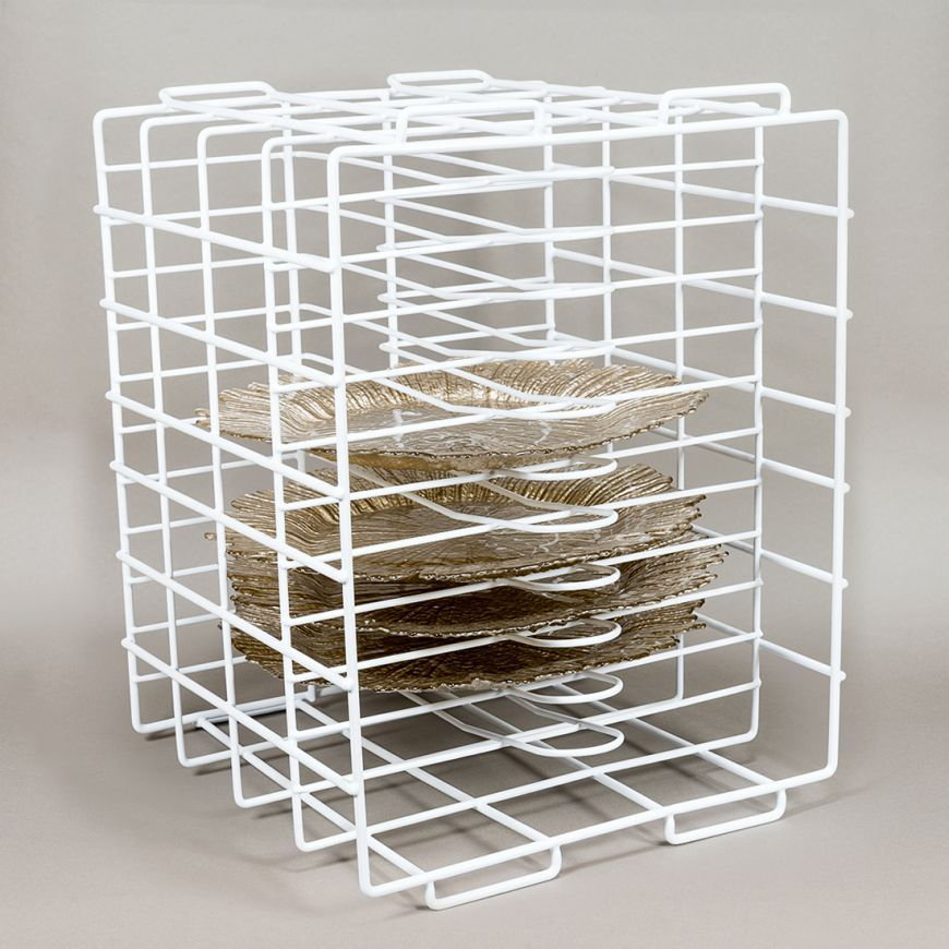 Shop For Charger Plate Storage At LinenTablecloth. Keep Breakable Chargers  And Dinner Plates Organized And Protected With Our Charger Plate Storage  Rack.