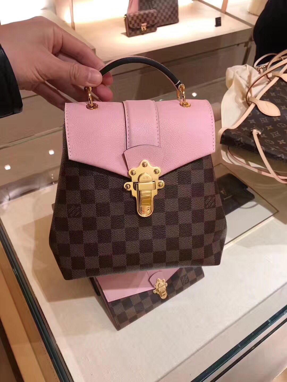 40556ecfa22d Louis Vuitton Damier Clapton Backpack N42262 Magnolia  louis  vuitton   clapton  backpack  n42262  lv backpack louis vuitton backpack  louis vuitton  back ...