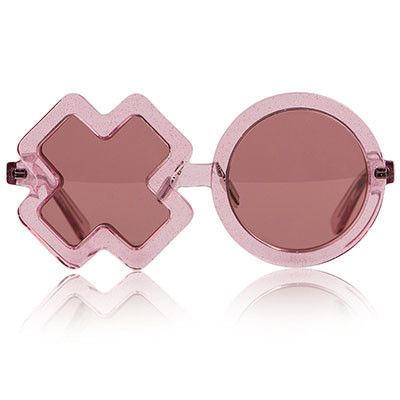 f0533a1c2 Pink Glitter XO Sunglasses by Sons + Daughters Eyewear - Junior ...