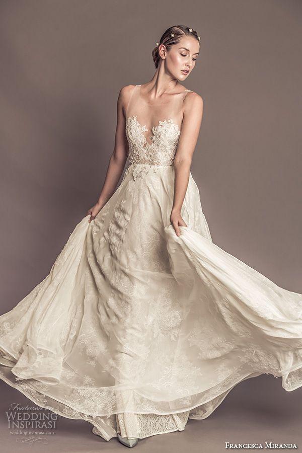 Francesca Miranda Fall 2016 Wedding Dresses — + New Year\'s Eve ...