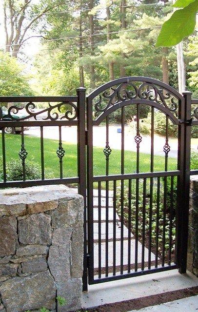 Decorative Gates Salem Iron Works Baldwin Place Ny Cancelli