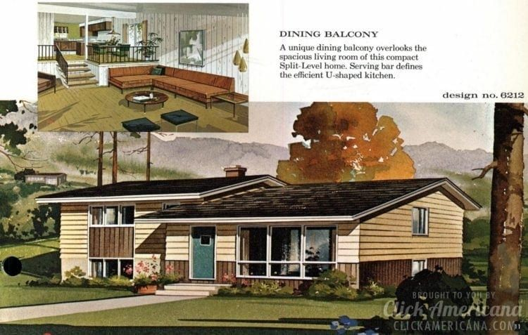 See 125 vintage '60s home plans used to design & build ...