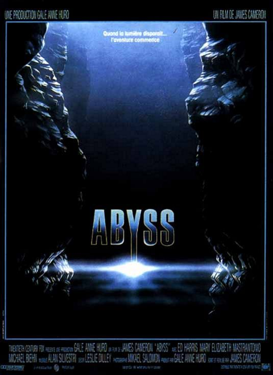 The Abyss Movie Poster #4 - Internet Movie Poster Awards Gallery