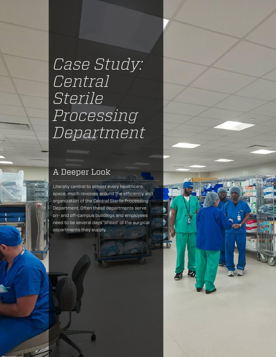Case Study  Central Sterile Processing