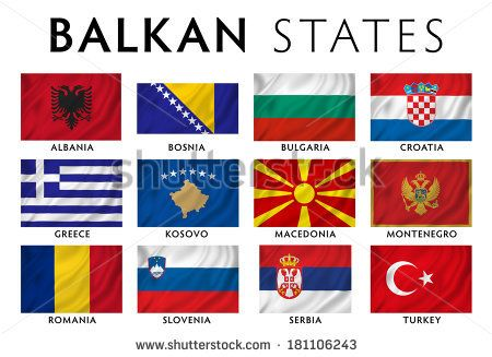 Flags of Balkan states today | World - Flags of the World ...
