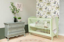 Bopita Ledikant Groen.Happy Baby Daan Ledikant Groen 60x120cm Wiegjes En Ledikantjes