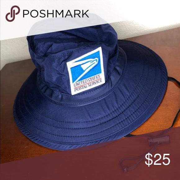 Postal bucket hat USPS uniform medium NWT. Size medium USPS Accessories Hats 00434ec2989