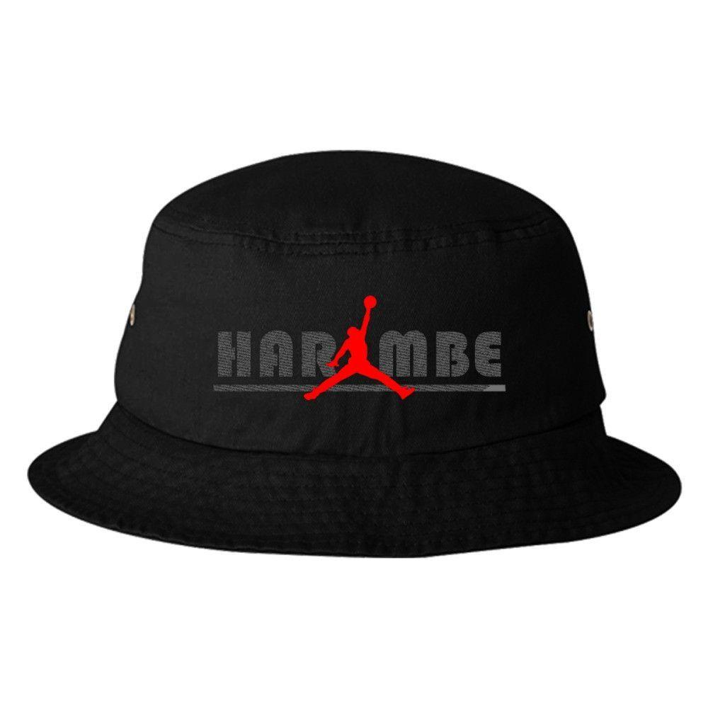 Jordan Harambe Bucket Hat