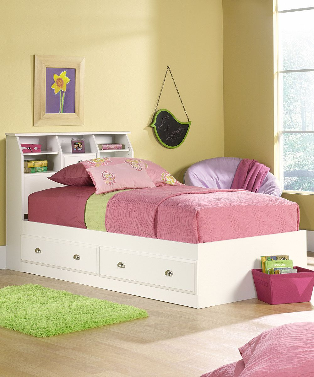 South Shore Logik 4 Piece Pure White Twin Kids Bedroom Set: Take A Look At This Soft White Shoal Creek Four-Piece