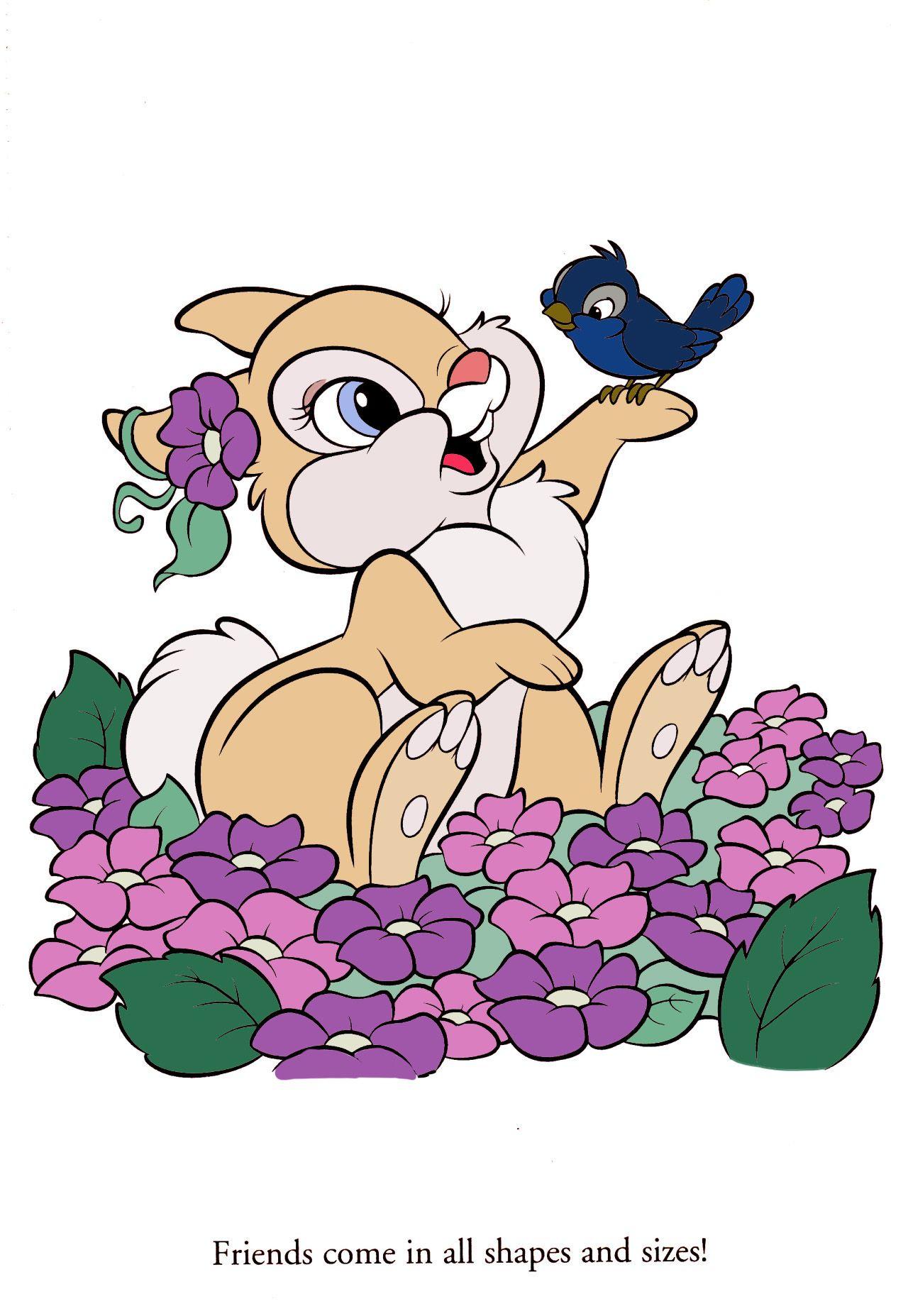 Miss Bunny from Bambi  Miss bunny, Disney tattoos, Bunny drawing