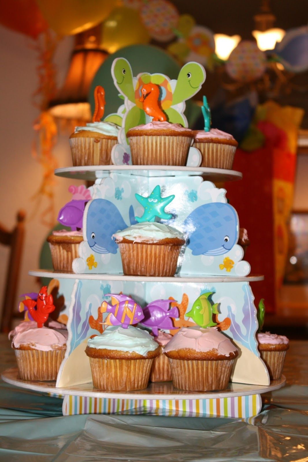 Sippy Cup Chronicles: Under The Sea Birthday Party