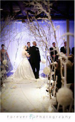 Unser Original Winter Wonderland! – Blütenblattschieber   – Wedding Decor