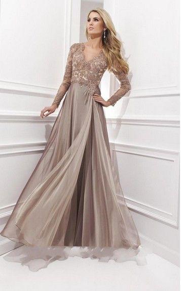 Vestidos de fiesta 2014 manga larga