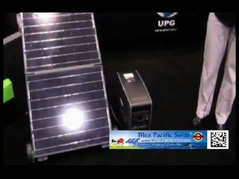A Portable Backup Solar Generator That I Can Run Small
