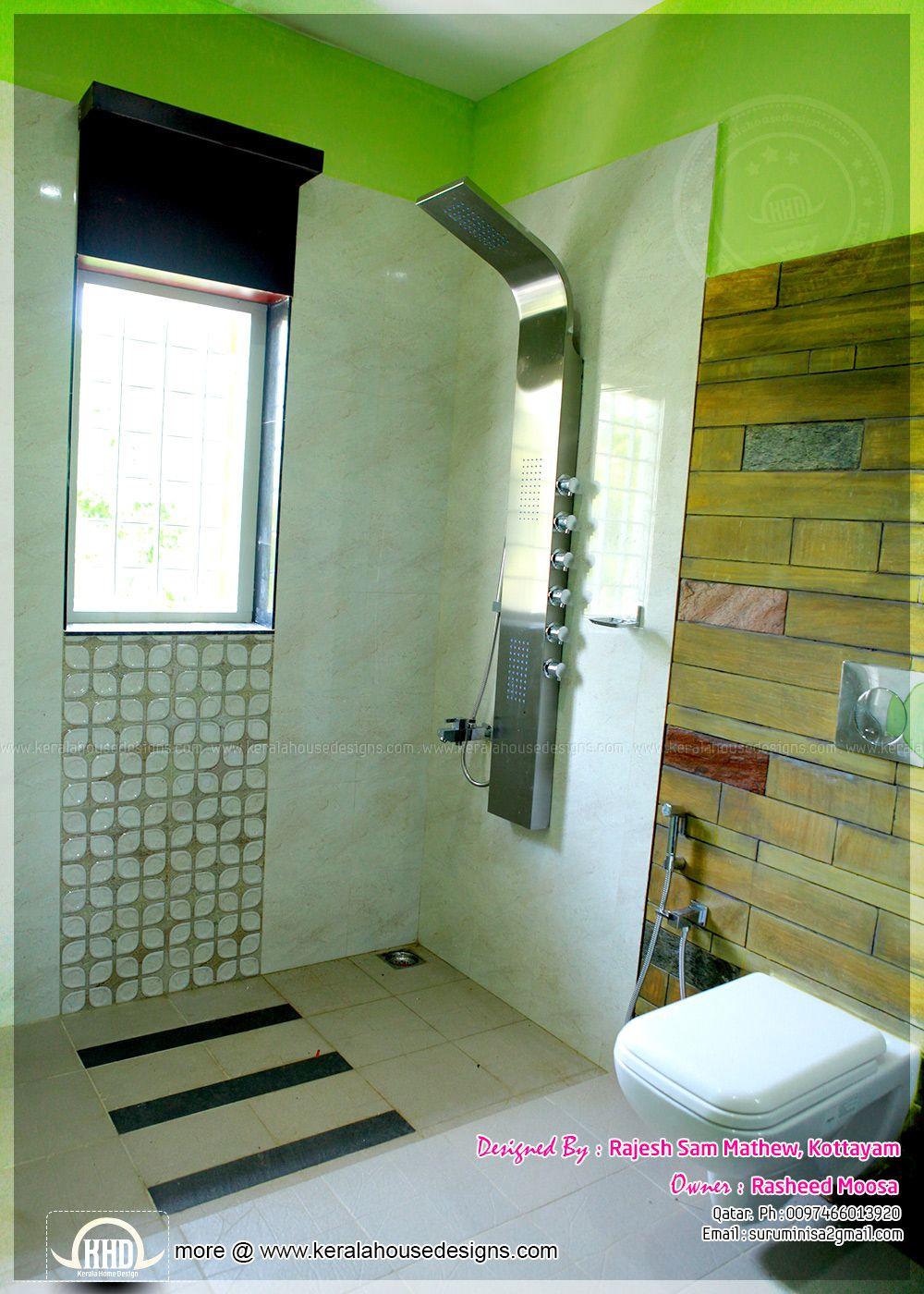 Kerala Home Design Interior Bathroom In 2020 Small Bathroom Design Glamorous Bathroom Decor Bathroom Interior Design