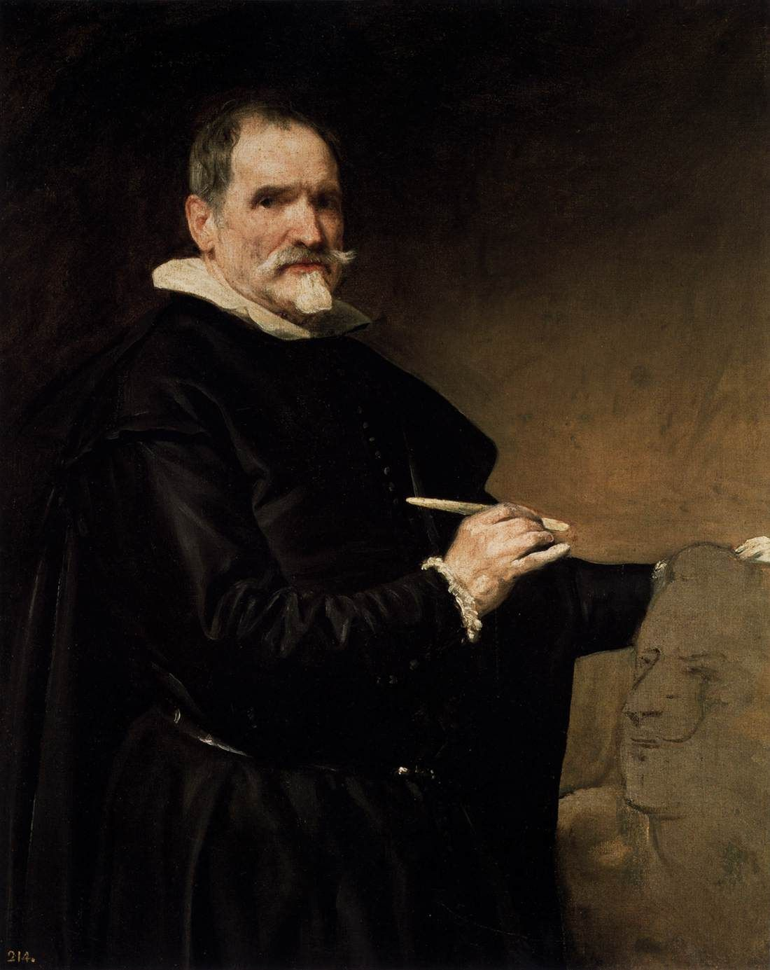 Portrait of the Sculptor, Juan Martinez Montanes - Diego Velazquez