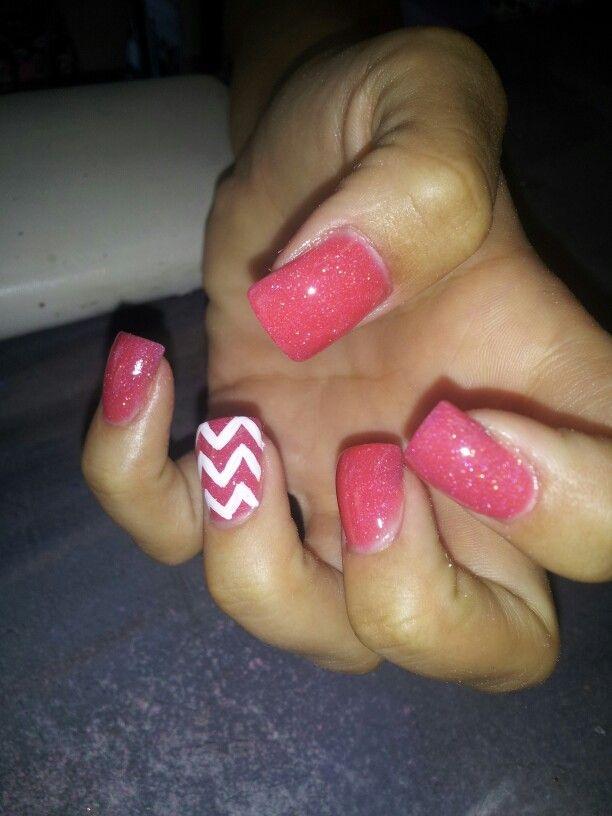 Tammy Taylor nail product. Acrylic overlay. Custom color mix. Hand ...