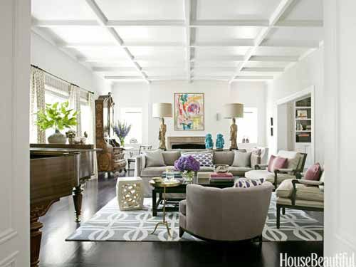 50 Easy Decor Ideas To Make Over A Room In A Day House Beautiful Living Rooms Beautiful Living Rooms Home Decor Living room ideas house beautiful