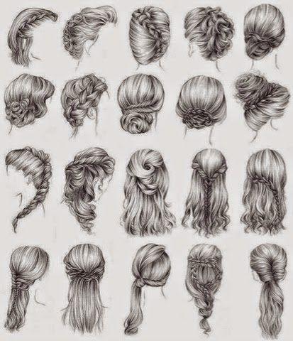 Frisuren Zeichnungen Frisuren Schulterlange Haare Frisuren