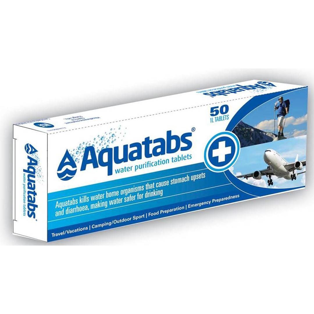 Aquatabs Water Purification Tablets 50 - Amcal Chempro Online Chemist