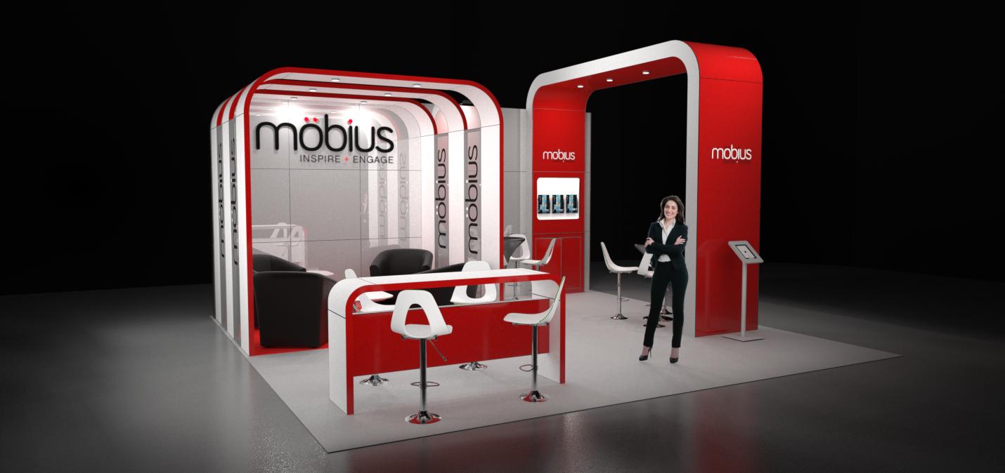 Modular Exhibition Stand Price : Image möbius m modular exhibition stand without the custom