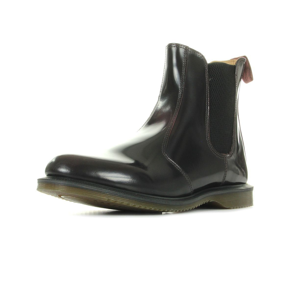 Bottines Homme Flora Black Polished Smooth Taille : 37;39