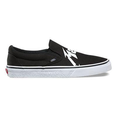 Shop Vans X Metallica Classic SlipOn Shoes Today At Vans The