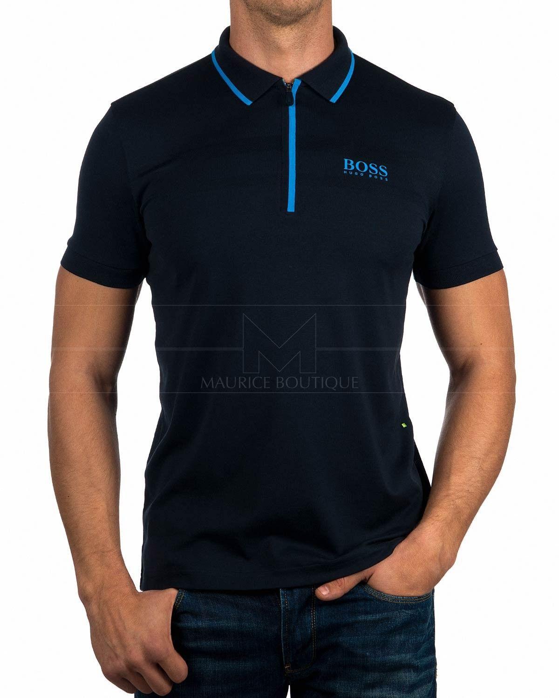Polos Hugo Boss ® Azul Marino - Pronghorn  1b8552a236063