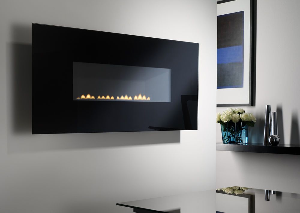 Superior Fires Bellevue Flueless Gas Fire Wall Mounted Special