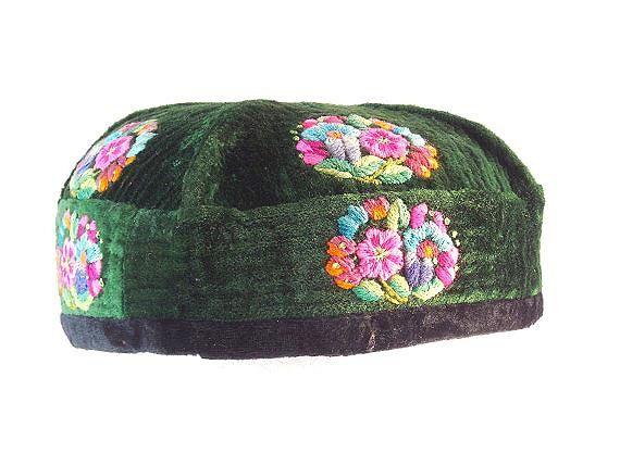 Vintage Taqiyah Cap Kufi Cap Topi Cap Embroidered Cap Etsy Vintage Cap Embroidered Cute Caps