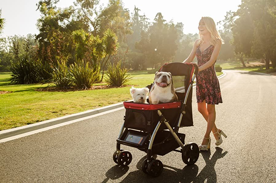 HPZ Pet Rover Premium Heavy Duty Dog/Cat/Pet Stroller