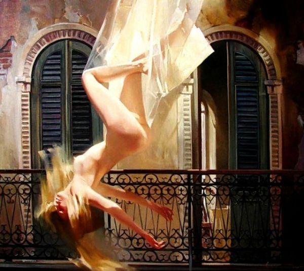 Russian artist Chernigin Alexey Paintings