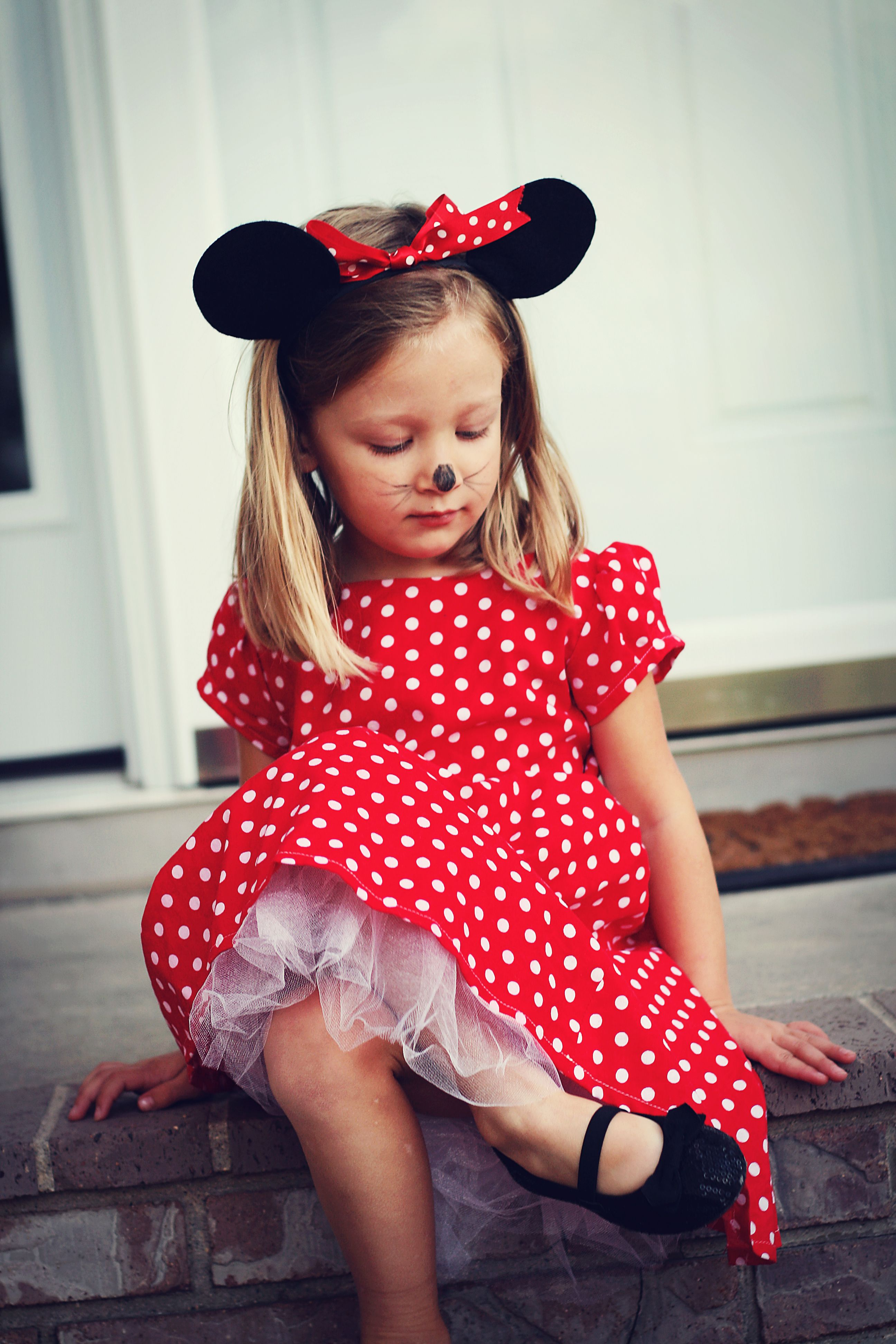Childrenu0027s/Kidsu0027 Minnie Mouse Halloween Costume - Kacy you and Lily could go  sc 1 st  Pinterest & Childrenu0027s/Kidsu0027 Minnie Mouse Halloween Costume - Kacy you and Lily ...