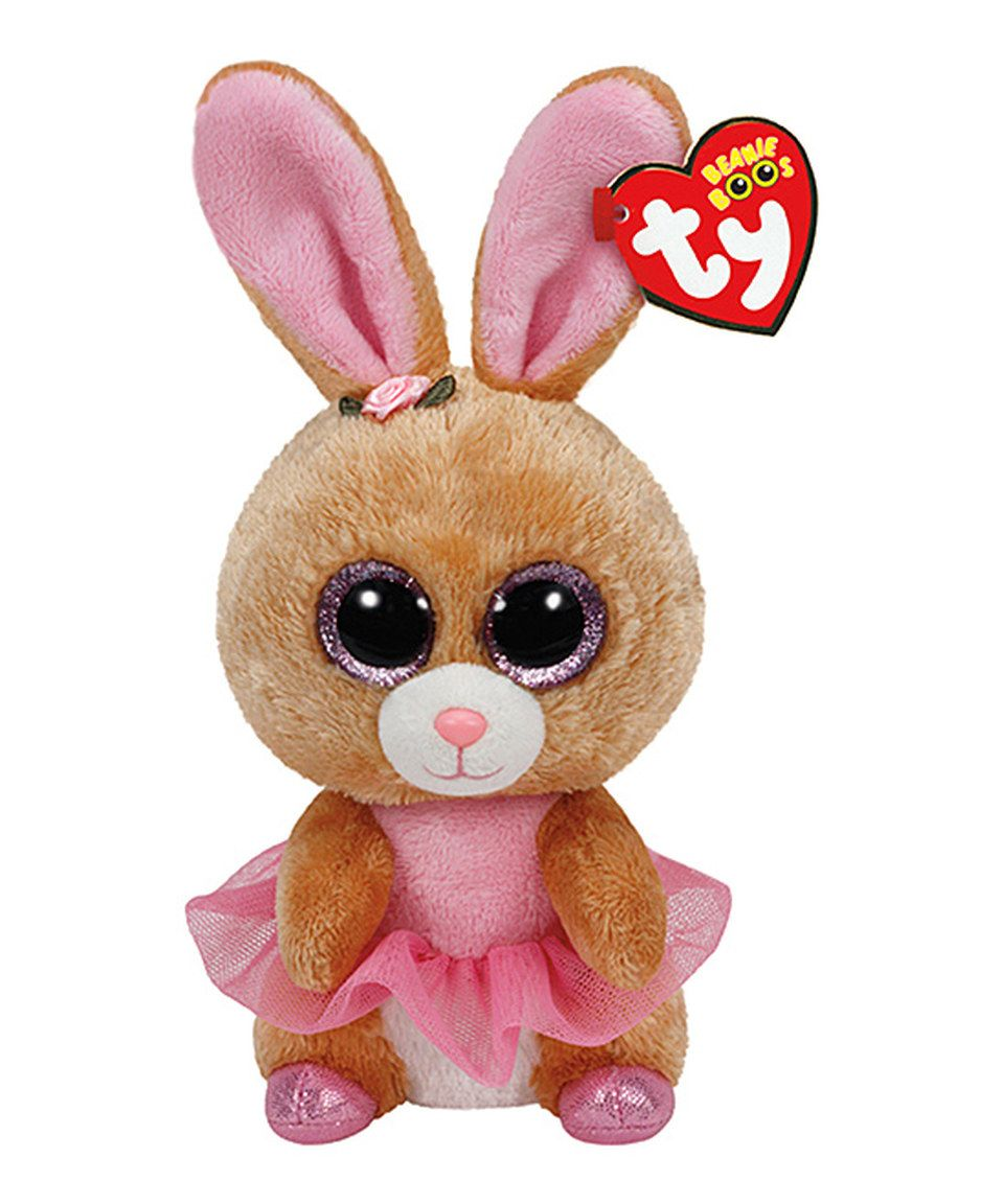 This Twinkle Toes the Ballerina Bunny Beanie Boo by Beanie Boos is perfect!   zulilyfinds a2c44a67b23