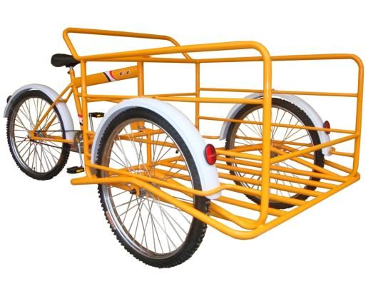 Triciclo De Carga Amarillo Benotto Triciclo Bici Triciclo