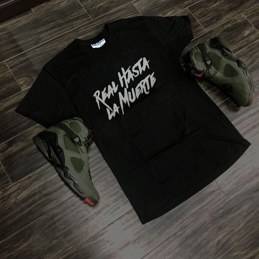 Soft Real Hasta La Muerte Camisa Jerzees Gildan T Shirt Usa Size S 2xl Fashion Clothing Shoes Accessories Mensclothing Shirts Shirts Clothes Mens Outfits