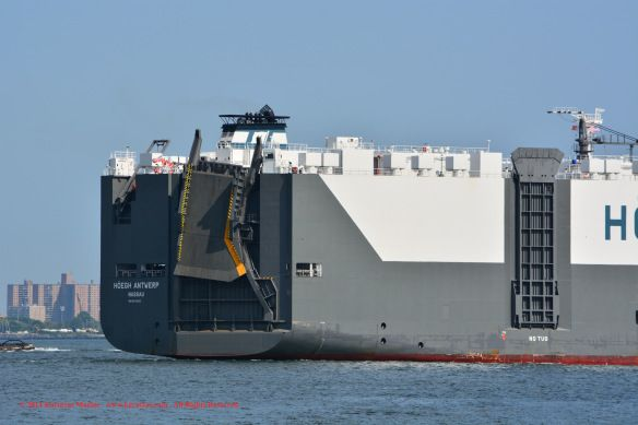 Car Carrier MV 'HÖEGH ANTWERP' (6,500-ceu, built in 2013 at