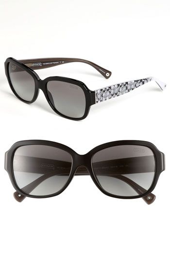5db661d518 COACH Sunglasses. COACH 56mm Oversized Plastic ...
