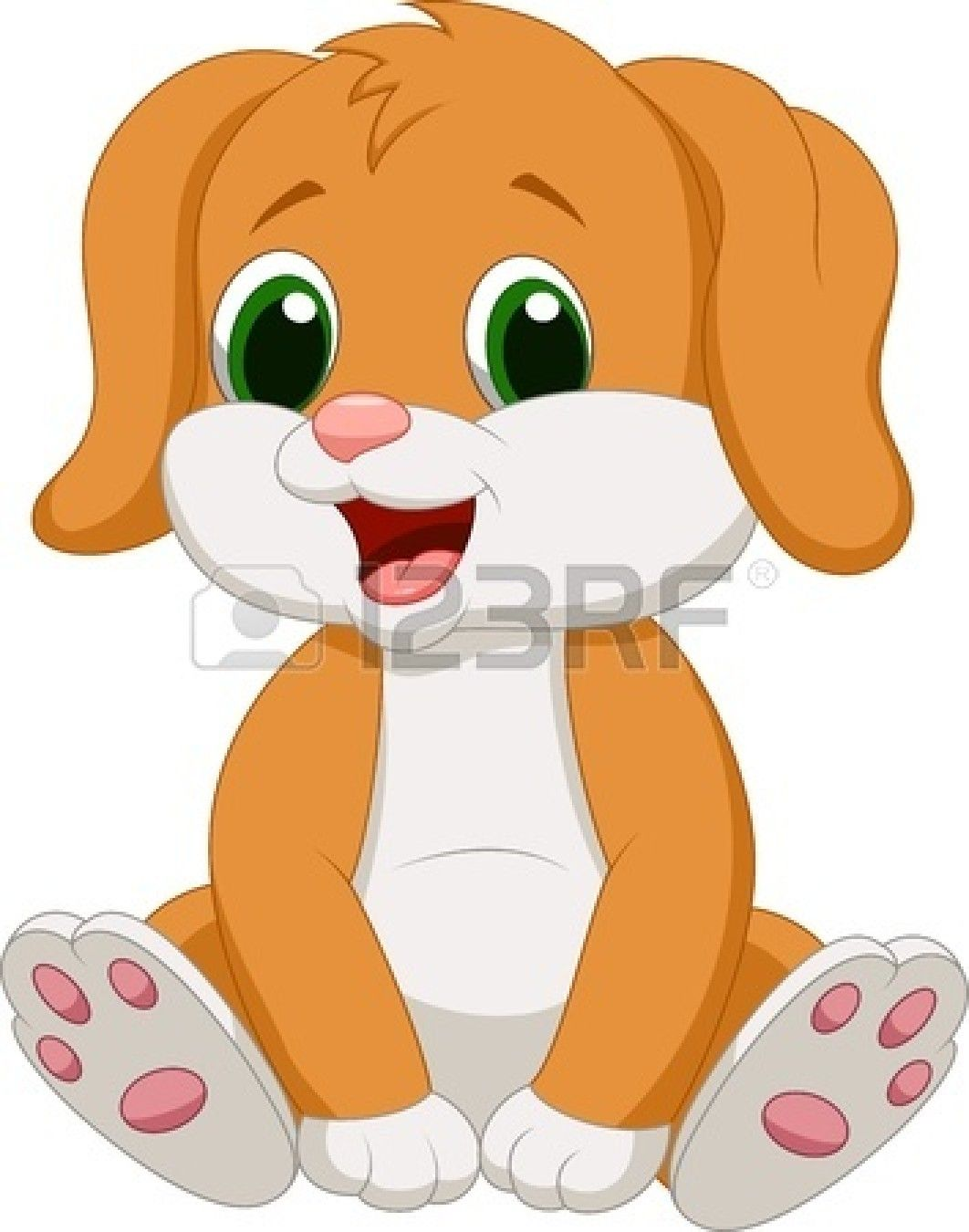 Stock Vector Cute Baby Dogs Baby Dogs Cartoon Dog