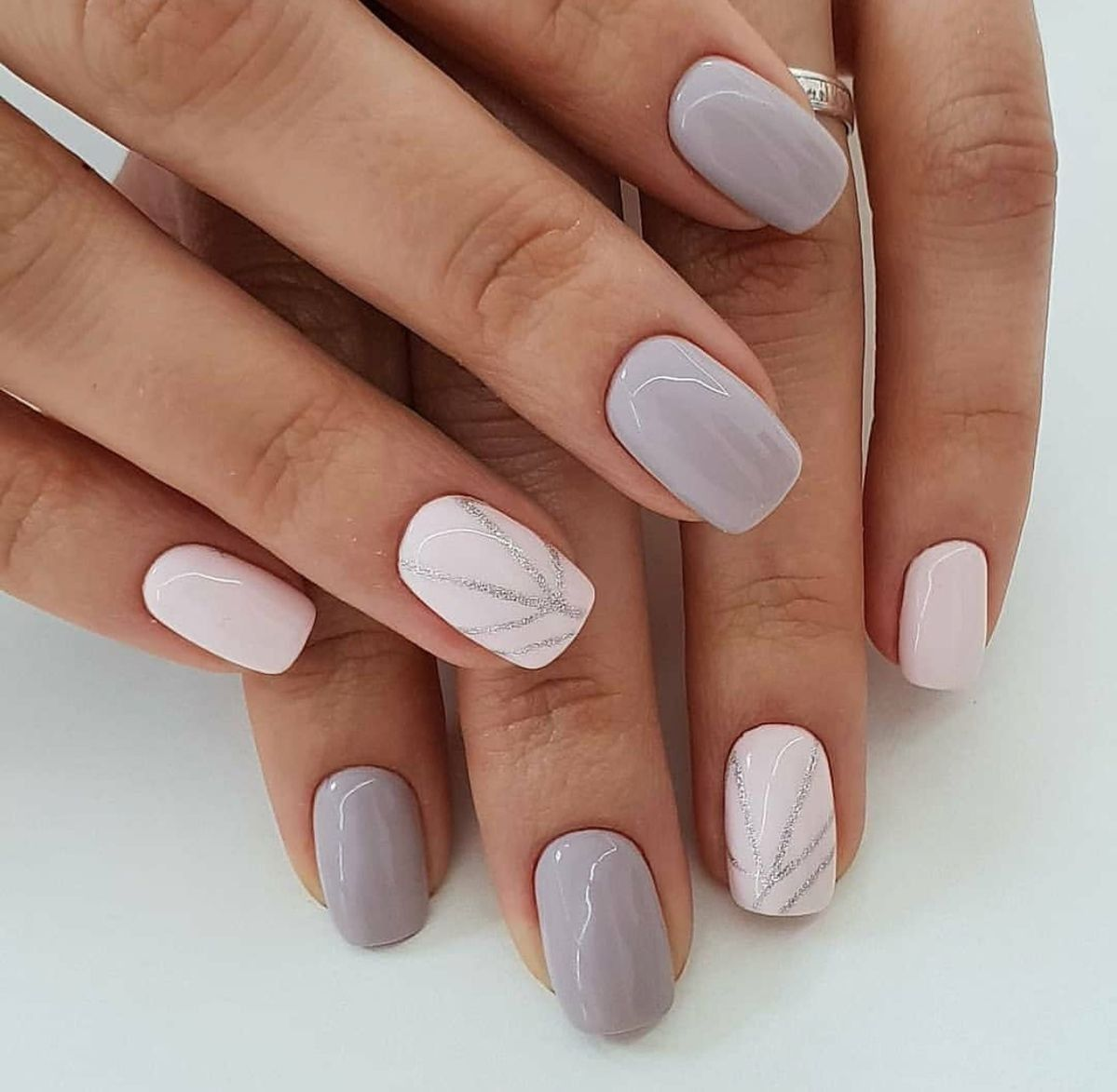 70 Simple Nail Design Ideas That Are Actually Easy Short Acrylic Nails Designs Short Acrylic Nails Nail Designs