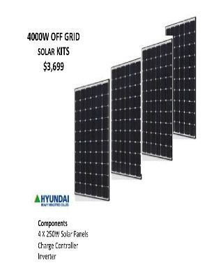 This is a 4KW DIY package design for home or business use. | Solar ...