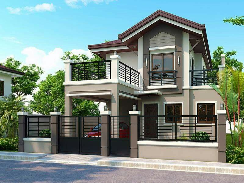 Modern model houses designs house design in pinterest homes and also rh