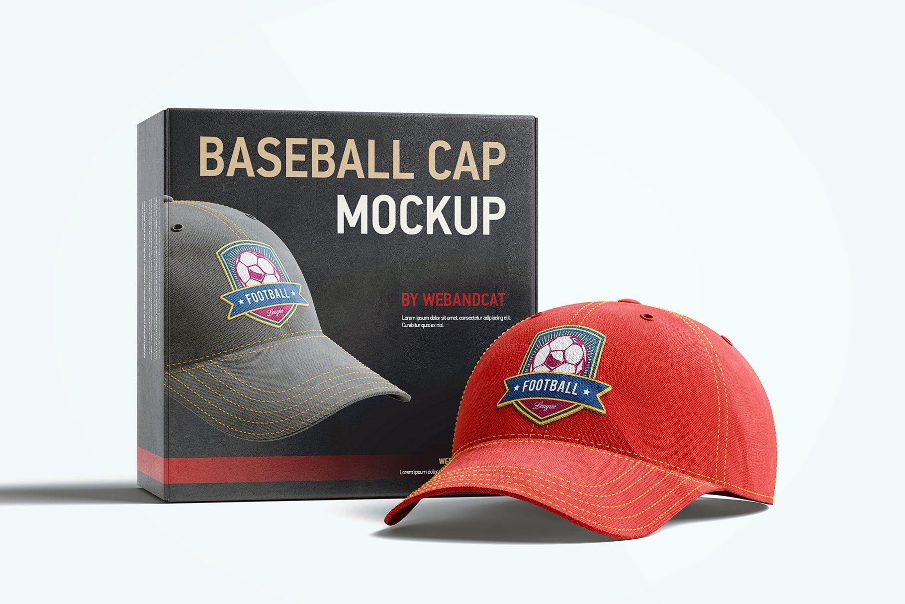 Download Baseball Cap 3d Mockup Baseball Cap Baseball Mockup