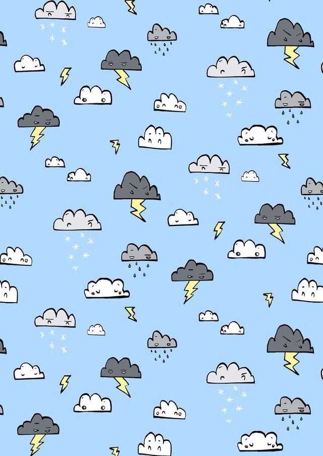 Pin By Catarina On Wallpapers Cute Wallpapers Pattern Wallpaper Cloud Wallpaper