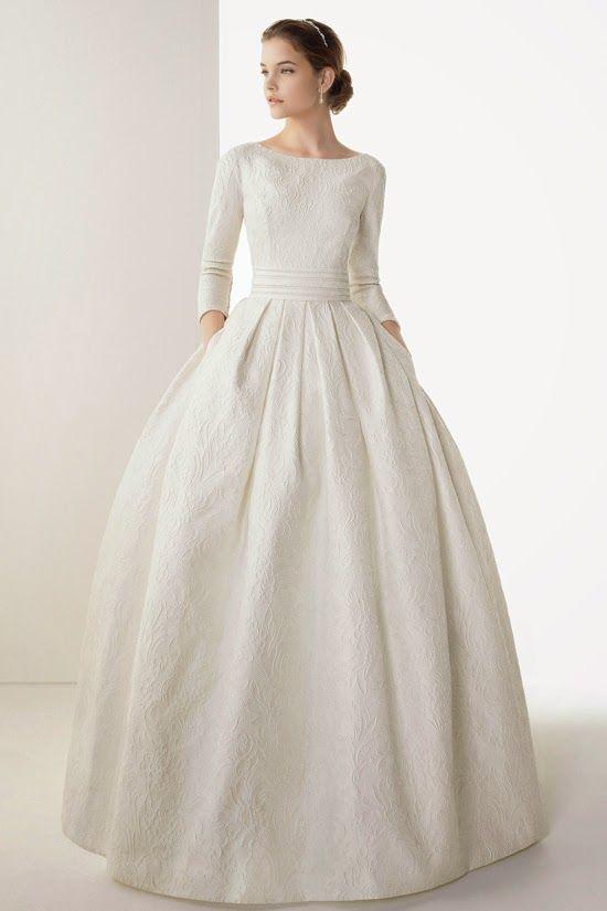 Telas para el vestido de novia
