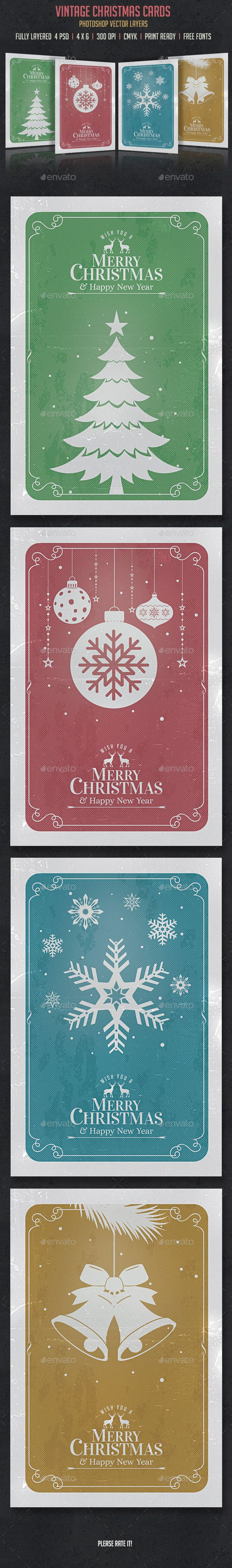 Vintage Christmas Cards/Invitation