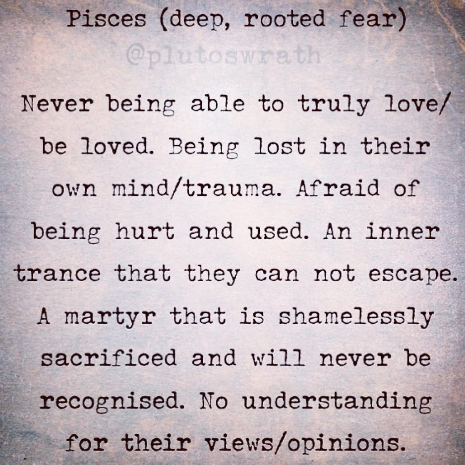 Pisces #teampisces #plutoswrath #astrology #starsigns