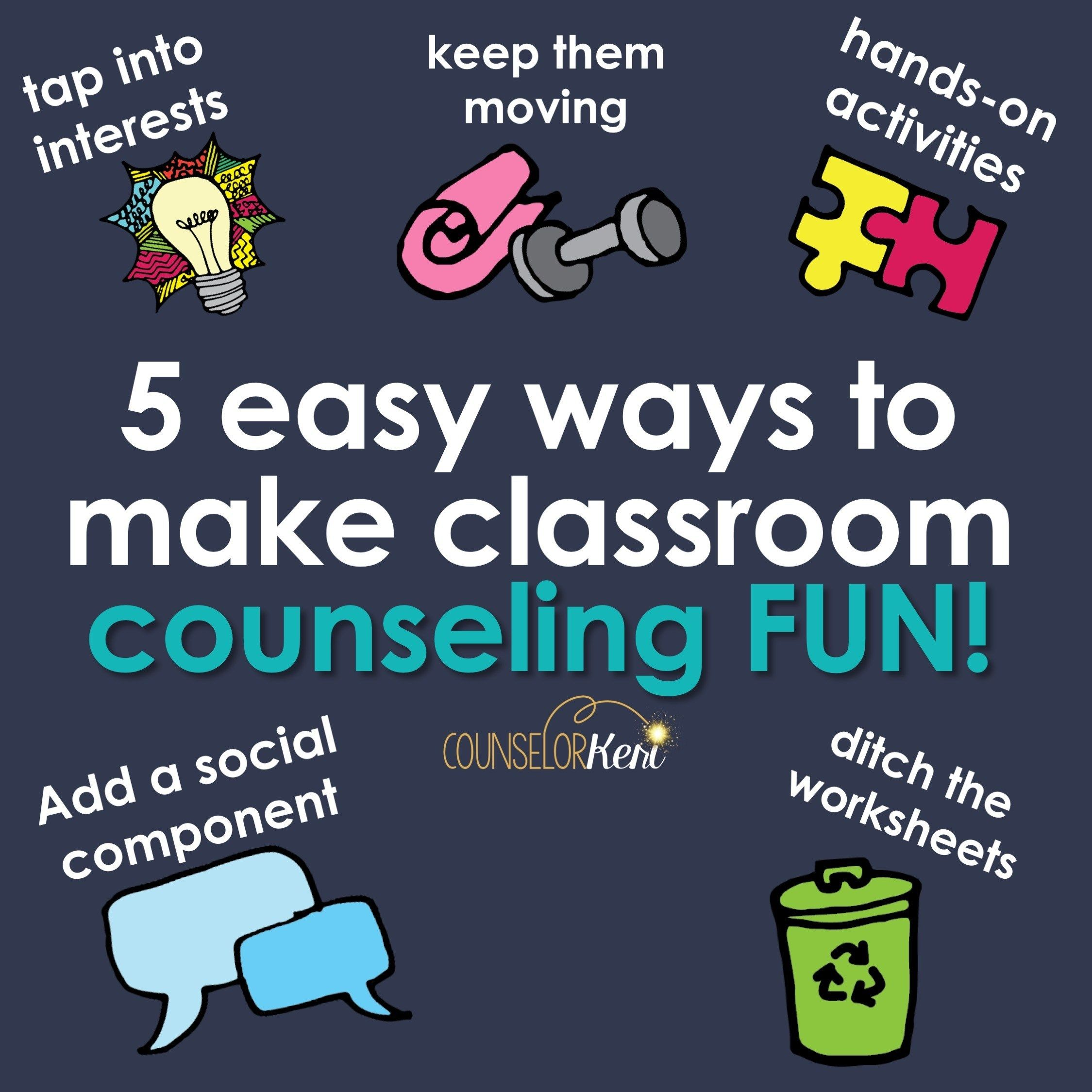 Fun Classroom Guidance Activities Get Students To Like