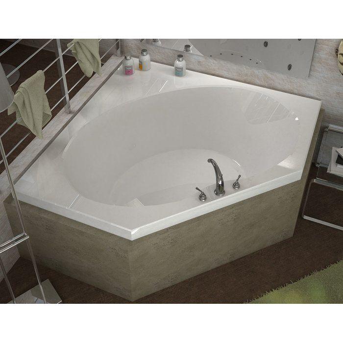 St Barts 60 X 60 Drop Corner In Soaking Bathtub Bathtub