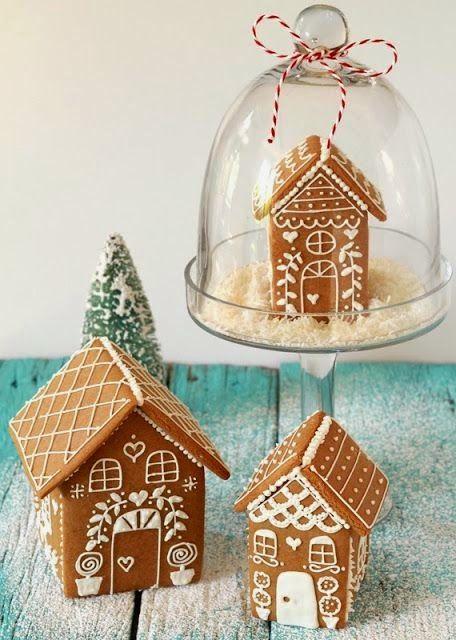 Next year - Gingerbread Houses! Casamento Pinterest